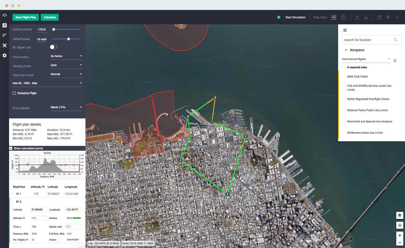 Avision - Airspace Management for Drones